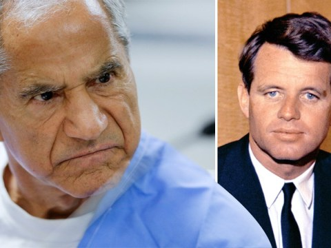 Man who shot Robert F Kennedy stabbed in prison