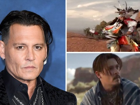 Dior pulls Johnny Depp's new Sauvage advert after being slammed for 'cultural appropriation'