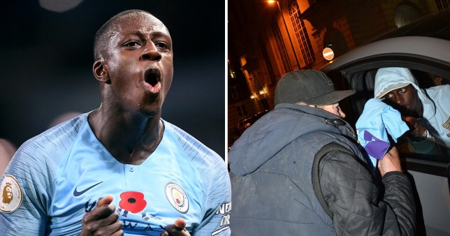 the best attitude 320b0 e43b4 Man City's Benjamin Mendy donates shirt to homeless man who ...