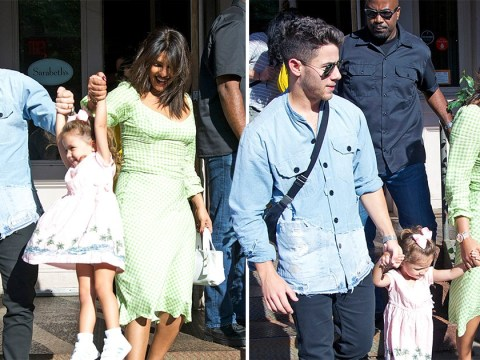 Nick Jonas and Priyanka Chopra are coolest aunt and uncle as they hang out with Kevin Jonas' daughters