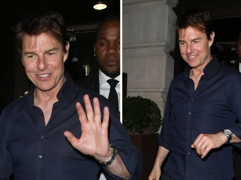 Tom Cruise takes a break from busy schedule as he spends some down time in London