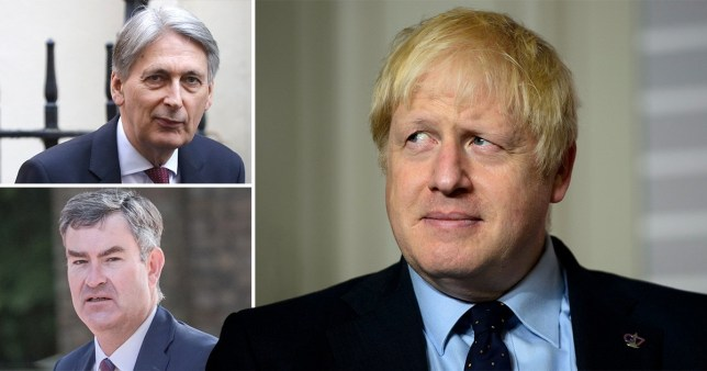 Boris will sack Remainer MPs who vote to block no deal (Picture: Rex)