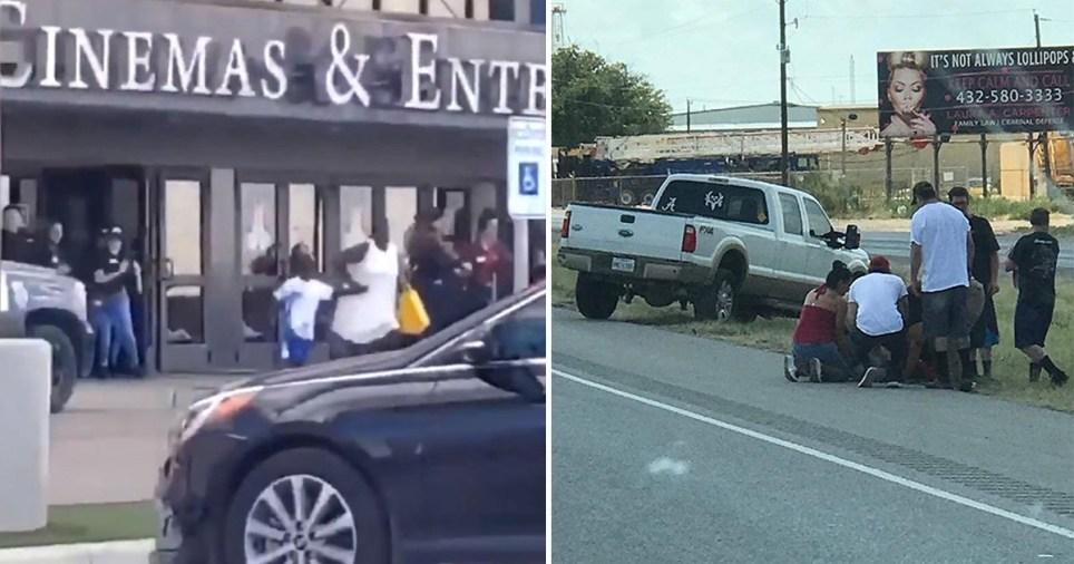 Texas gunman shot