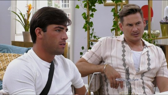 Jack Fincham and Lee Ryan on Celebs Go Dating
