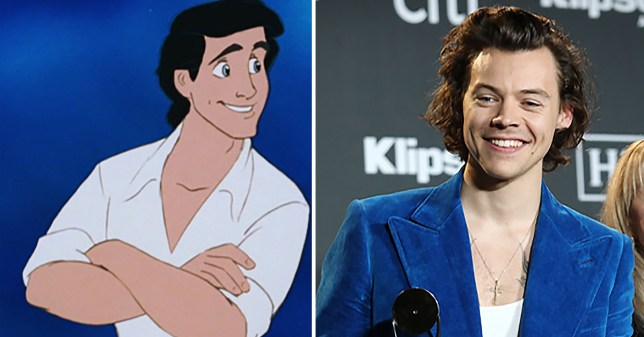 Prince Eric and Harry Styles