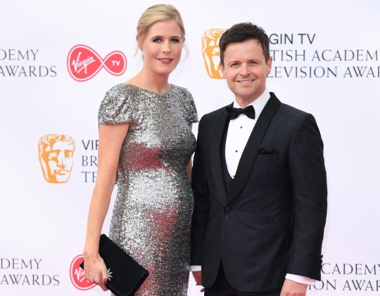 Ali Astall and Declan Donnelly attend the Virgin TV British Academy Television Awards at The Royal Festival Hall on May 13, 2018 in London, England