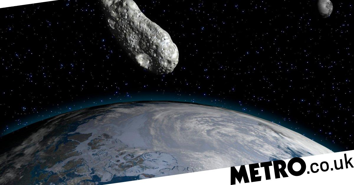 Nasa: 'potentially hazardous' asteroid will skim Earth at 53,000mph this week