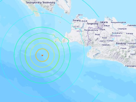 Massive earthquake sparks tsunami warning as people are told to seek higher ground