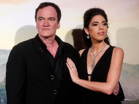 Quentin Tarantino and wife Daniella expecting first child eight months after intimate wedding