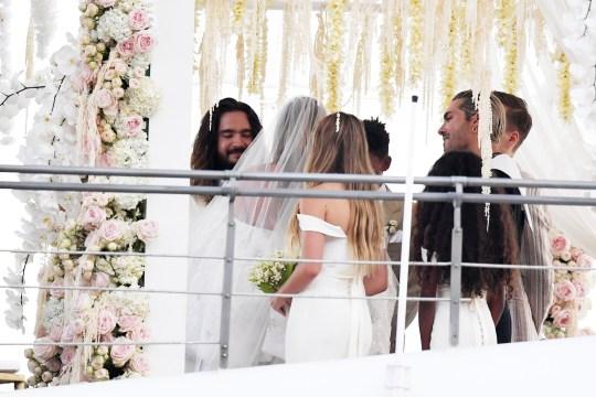 Heidi Klum Marries Tom Kaulitz For Second Time In Stunning