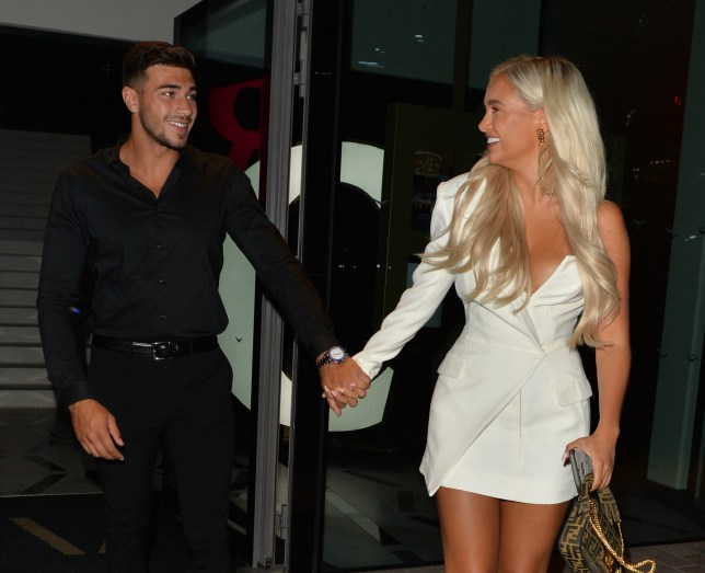 Love Island's Tommy Fury and Molly-Mae Hague