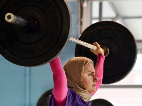 This Muslim woman is not only an Olympic weightlifter, she also has an engineering PhD