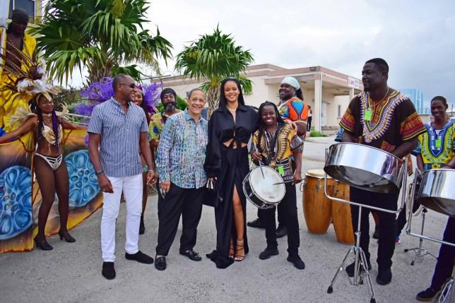 Rihanna arrives in Barbados for Crop Over Festival