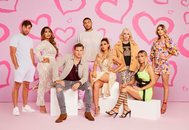 The cast of Celebs Go dating series 7