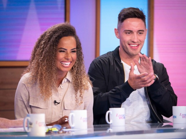 amber gill on loose women