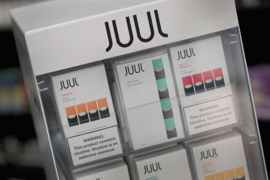 Student, 18, says vape Juul pods almost killed him after