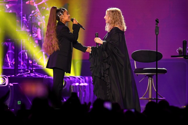 Ariana Grande Barbra Streisand