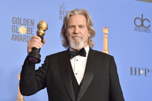 Jeff Bridges attends the 76th Annual Golden Globe Awards - Press Room at The Beverly Hilton Hotel on January 6, 2019 in Beverly Hills