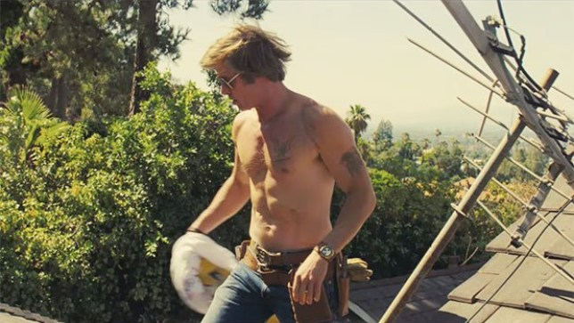 Brad Pitt took his shirtless scenes very seriously for Once Upon A Time In Hollywood and we thank him for that