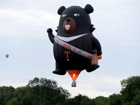The weirdest balloons at the Bristol International Balloon Fiesta