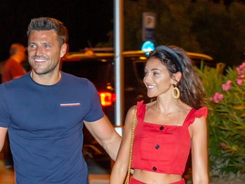 Mark Wright and Michelle Keegan 'happy and relaxed after imbalance' on first public date in months