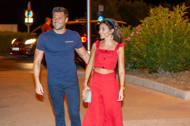 Mark Wright and Michelle Keegan have been enjoying a romantic holiday in Mallorca