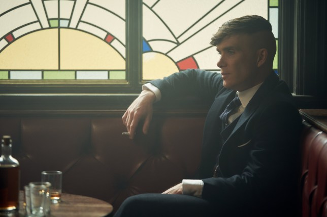 Cillian Murphy (Tommy Shelby) in Peaky Blinders | Series 5 (BBC One) | Episode 01 Photographer: Robert Viglasky ?? Caryn Mandabach Productions Ltd. 2019