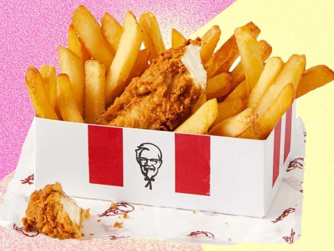 Celebrate A-Level results day with a free KFC snack box