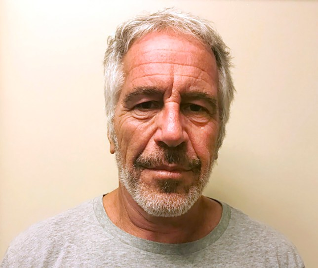 Jeffrey Epstein on the Sex Offenders Registry