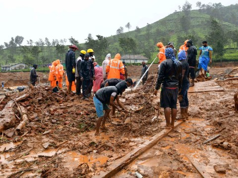 Devastation as landslide sweeps away entire Indian village