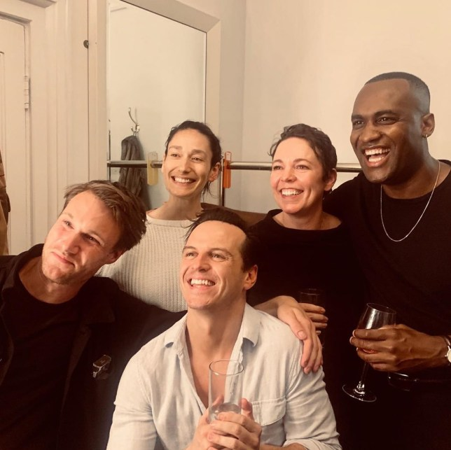 Olivia Colman reunites with Fleabag cast to support Andrew Scott