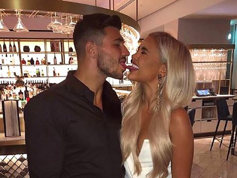 Love Island's Molly-Mae Hague and Tommy Fury are all about soppy PDA as they return to social media