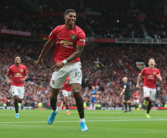 Marcus Rashford put in an excellent performance