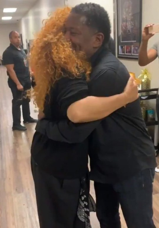 Janet Jackson surprises superfan in Vegas and it's too much (Picture: @Real_KB/Twitter)