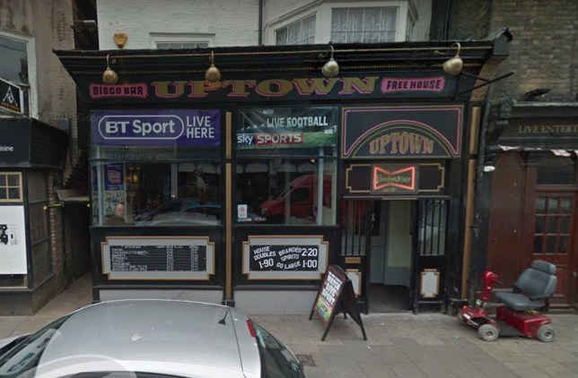 Google Street view of the Uptown Bar in Great Yarmouth which has a 9am happy hour TRIANGLE NEWS 0203 176 5581 // contact@trianglenews.co.uk By Imogen Cooper A PUB offering Britain?s earliest happy hour has been slammed by alcohol campaigners after it began serving cut-price booze at 9AM. Instead of an early morning coffee, Britain?s earliest happy hour offers punters cheap pints from first thing in the morning. As an alternative breakfast, customers at Uptown Bar in the seaside town of Great Yarmouth can get a pint of Fosters for ?1.70 or a John Smith?s for ?1.90. *TRIANGLE NEWS DOES NOT CLAIM ANY COPYRIGHT OR LICENSE IN THE ATTACHED MATERIAL. ANY DOWNLOADING FEES CHARGED BY TRIANGLE NEWS ARE FOR TRIANGLE NEWS SERVICES ONLY, AND DO NOT, NOR ARE THEY INTENDED TO, CONVEY TO THE USER ANY COPYRIGHT OR LICENSE IN THE MATERIAL. BY PUBLISHING THIS MATERIAL , THE USER EXPRESSLY AGREES TO INDEMNIFY AND TO HOLD TRIANGLE NEWS HARMLESS FROM ANY CLAIMS, DEMANDS, OR CAUSES OF ACTION ARISING OUT OF OR CONNECTED IN ANY WAY WITH USER'S PUBLICATION OF THE MATERIAL*
