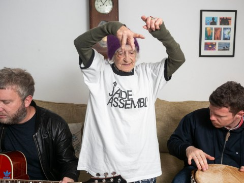 92-year-old-groupie has followed her favourite rock band on tour for five years
