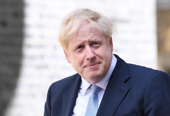 Mandatory Credit: Photo by James Veysey/REX (10345932dn) Boris Johnson in Downing Street Prime Ministerial handover, London, UK - 24 Jul 2019