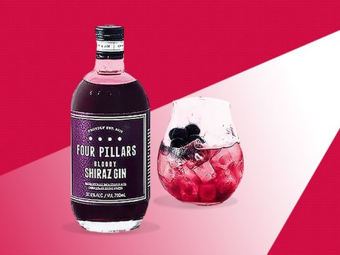 You can now get red wine flavoured gin