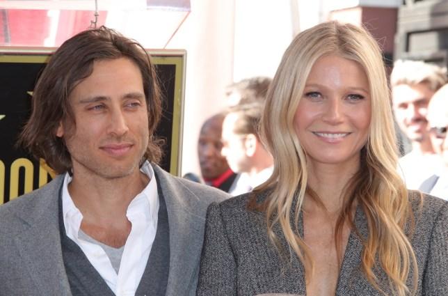 Brad Falchuk and Gwyneth Paltrow