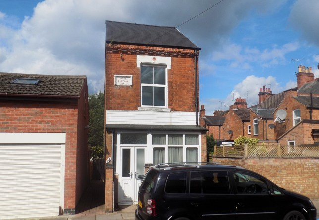 Rose Cottage, believed to be the smallest detached house in Britain is up for sale in Leicester