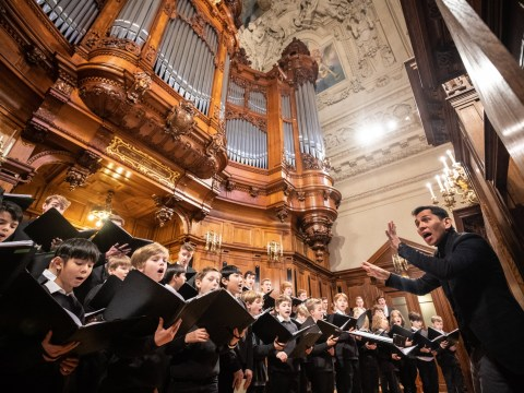 Girl, 9, sues all-boys' choir for not letting her join