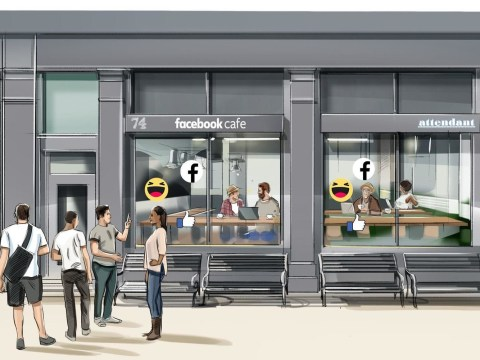 Facebook is opening five cafes which will offer free 'privacy checks'