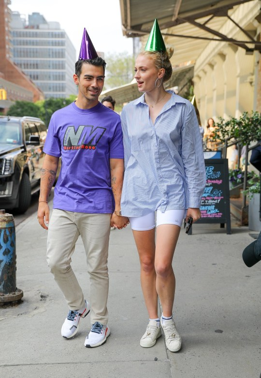 Sophie Turner And Joe Jonas Celebrate His 30th Birthday In New York