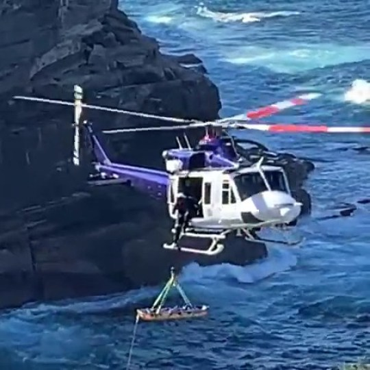 Authorities have confirmed a woman has died after plunging several metres in Sydney's east on Saturday morning in diamond bay on 17th August 2019
