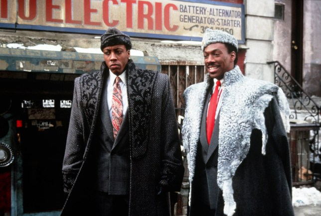 Arsenio Hall and Eddie Murphy in Coming To America