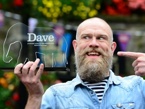 Which comedians have won the Best Joke award at Edinburgh Fringe Festival and what were they?