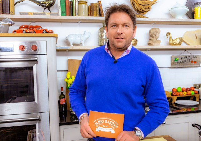 From Blue Marlin Productions JAMES MARTIN'S SATURDAY MORNING Saturdays on ITV Pictured: James Martin. ? Blue Marlin For further information please contact Peter Gray 0207 157 3046 peter.gray@itv.com This photograph is ? Blue Marlin and can only be reproduced for editorial purposes directly in connection with the programme JAMES MARTIN'S SATURDAY MORNING or ITV. Once made available by the ITV Picture Desk, this photograph can be reproduced once only up until the Transmission date and no reproduction fee will be charged. Any subsequent usage may incur a fee. This photograph must not be syndicated to any other publication or website, or permanently archived, without the express written permission of ITV Picture Desk. Full Terms and conditions are available on the website www.itv.com/presscentre/itvpictures