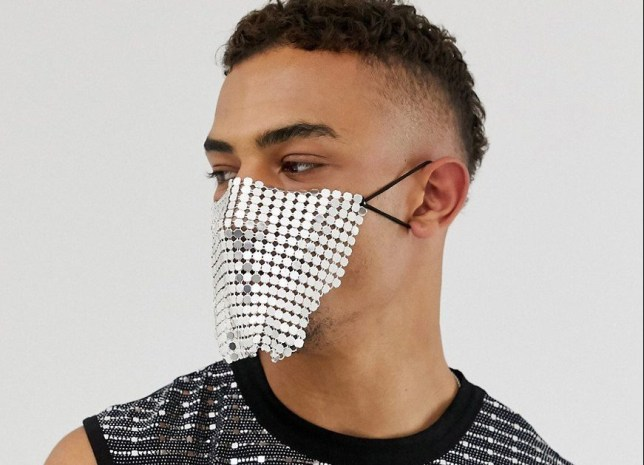 ASOS is being mocked for its 'ridiculous' face mask that won't protect against germs
