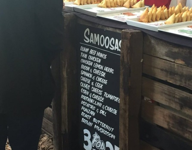 People think these 'bacon and cheese' and 'Punjabi' samosas are gentrified