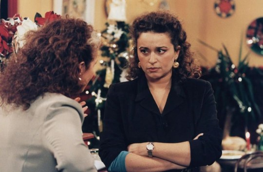 Nadia Sawalha in Eastenders